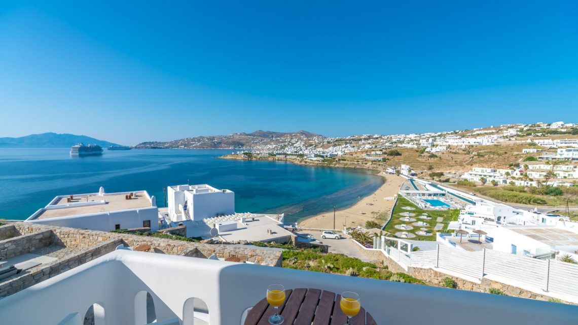 Best Island Beaches For Partying Mykonos St Barts: Mykonos Hotels Cape Mykonos Residences